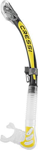 Cressi Alpha Ultra Dry - Schnorchel Trocken Ideal zum Schnorcheln, Apnoe und Tauchen