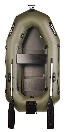 BARK B-210C B-210CN 2.1 m Schlauchboot für 1 Person Paddelboot Ruderboot Motorboot Angelboot Professionelle Ausführung (B-210CN Lattenboden Heckspiegel)