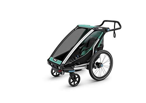 Thule Baby Lite1 Fahrradanhänger Chariot, Blau, One Size, 10203001