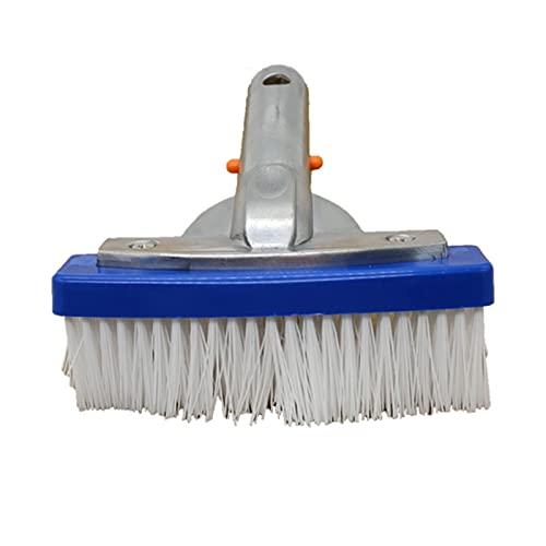 Xuanshengjia Schwimmbad Reinigungsbürste, Fliesen & Böden, Nylon-Borsten Poolbürste ABS-Kunststoff-Hand-Borste