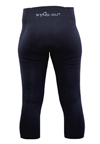 Standout Damen Neopren Capri Hose SUP 3/4 lang 1,5 mm, Größe:XS