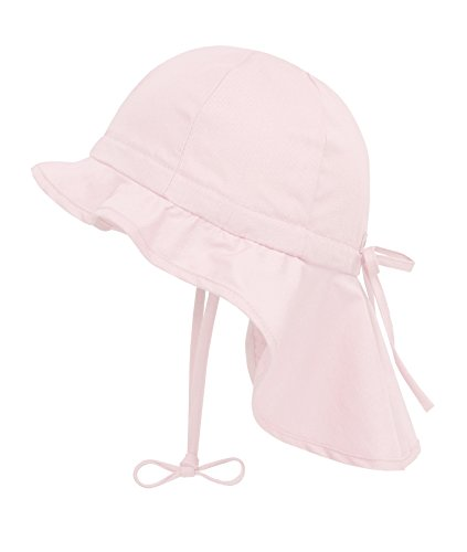 Döll Mädchen Sonnenhut Nackenschutz UV-Schutz 30 75335, Rosa (blushing bride 2440), 47