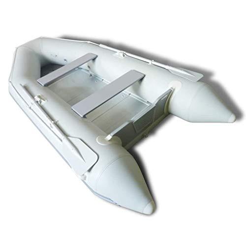 vidaXL ALU-Boden PVC Schlauchboot Sportboot mit Paddel 320x150 cm bis 566 kg 1A