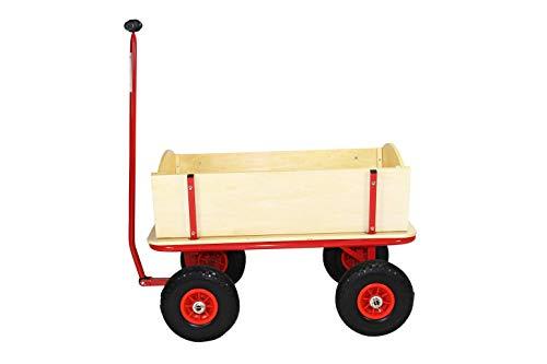Beachtrekker Style Holzbollerwagen, Handwagen, Leiterwagen, Natur