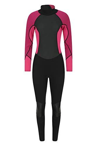 Mountain Warehouse Langer Damen-Neoprenanzug - Körper: 2.5mm, Konturfit, verstellb. Ausschnitt, hält Körperwärme, einteilig