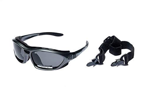 Alpland Polarized Polarisierende Gläser - Schutzbrille Sportbrille Sonnenbrille für Wassersport,Kitesurfen