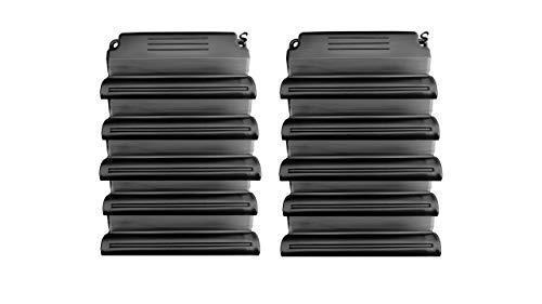 well2wellness Hochwertiges Pool Eisdruckpolster Set - 10 Stück mit Sand beschwert + Verbindungshaken