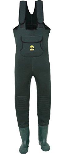 Behr Neopren High Back Wathose inkl. Socken mit Tasche alle Größen (42 / 43)