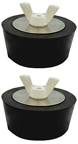 Pangaea Tech 2X Pool Winterstopfen 1,25-1,5 Zoll - 32-38mm Verschlussstopfen für Pool-Einlaufdüsen