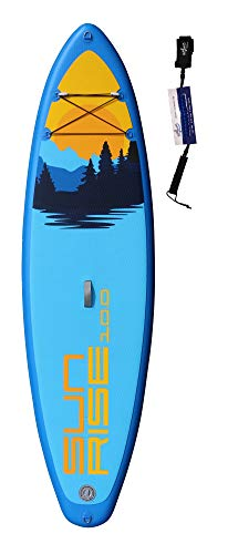 SUPwave Stemax Allround 10'0 Sunrise SUP Standup Paddel Board aufblasbar inkl Coil-Leash, Stand up Paddle Inflatable