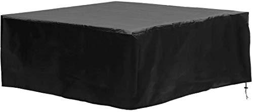dDanke Whirlpool-Abdeckung, wasserdicht, 100 % UV-beständig, quadratisch, 200 x 200 x 85 cm