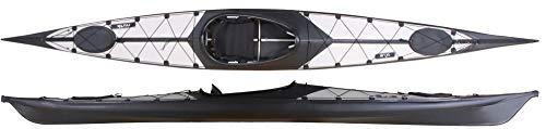 Nortik Argo Faltboot leichtes faltbares Kajak, Einer Faltkajak, Faltboot NEU, Farbe:Grau-Schwarz