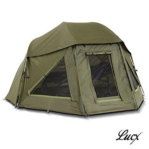 Lucx Schirmzelt/Brolly/Shelter/Angelzelt/Karpfenzelt/Zelt/Campingzelt, 10.000mm Wassersäule