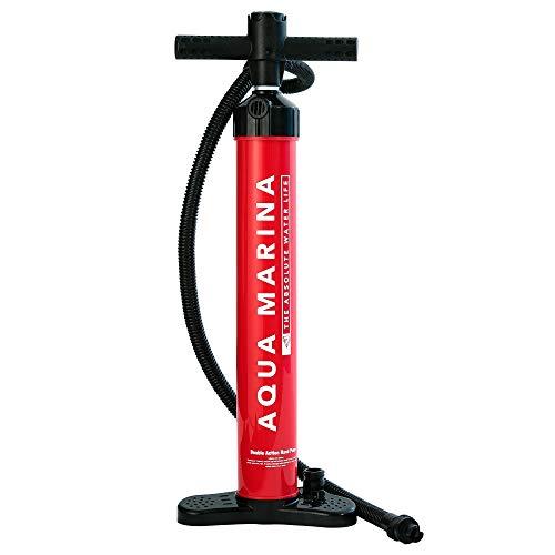 Aquamarina Unisex– Erwachsene Gonfiatore Sup Hand Pumpe, Rot, Uni