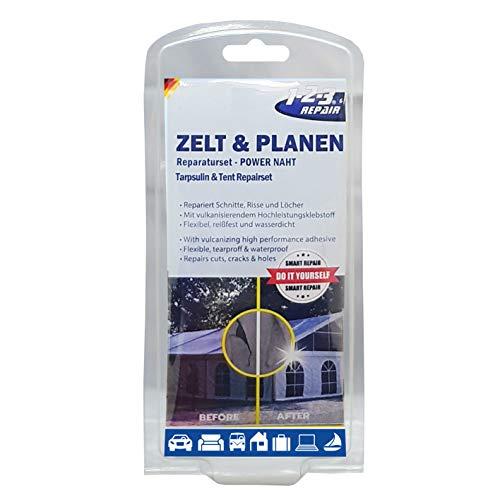 1-2-3 REPAIR Reparaturset Zelt Schlauchboot Luftmatratze Flickzeug PVC Planen wasserfest