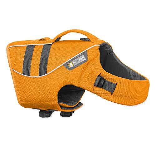 Ruffwear Schwimmweste für Hunde, Große Hunderassen, Größenverstellbar, Größe: L, Orange, Float Coat, 45102-807L