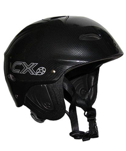 Concept X Kite + Surf Helm CX Pro Wassersporthelm White/Schwarz/Carbon (carbon, S)