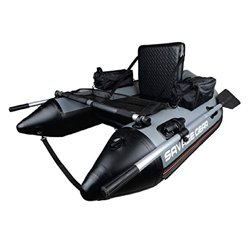 Savage Gear High Rider Belly Boat 170 - Bellyboot zum Spinn- & Fliegenfischen vom Boot, Schlauboot, Bellyboat, Belly Boot