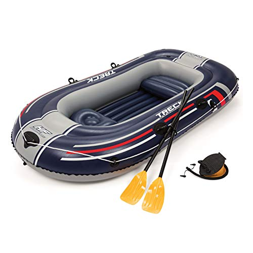 Bestway 'Hydro-Force Raft Set' Boot 255x127cm mit Blasebalg und 2 Rudern