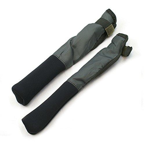 2 Stück Rutenschoner Neopren - Rod Tip Protector - Rutenschutz - Wasserdicht Rutenklettband Rutenschützer