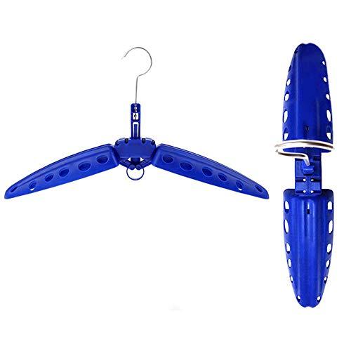 Gaosheng Universal Kleiderbügel Tauchanzüge klappbar Bügel Aufhänger, Ideal für Naßanzug Oder Trockenanzug