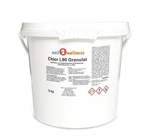 Chlor L90 Granulat - langsam lösliches Chlorgranulat mit 90% Aktivchlor 5,0 kg