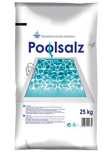Salinen Poolsalz 25 kg - bietet höchste Reinheit und ist bestens für alle Pools mit Salzelektrolyseanlagen geeignet.