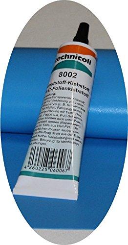 Jeha Pool Reparaturset mit Folie + Folienkleber technicoll 8002, Folien Reparaturset Poolflicken + Kleber Schwimmbad Verschiedene Größen (35 cm x 70 cm + 2 Tuben Kleber)