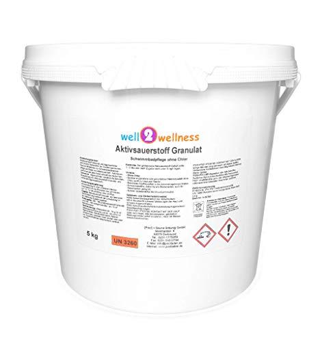 well2wellness Aktivsauerstoff Granulat/Sauerstoff Granulat/O²-Granulat - 5,0 kg