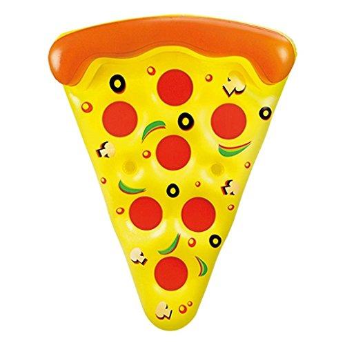 Otto Simon - Gigantisches schwimmendes Pizzastück für den Pool - Länge: ca. 1,80 m