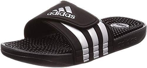adidas Unisex Adissage Hausschuh, Schwarz (Core Black/Silver Metallic/Core Black 0), 48.5 EU