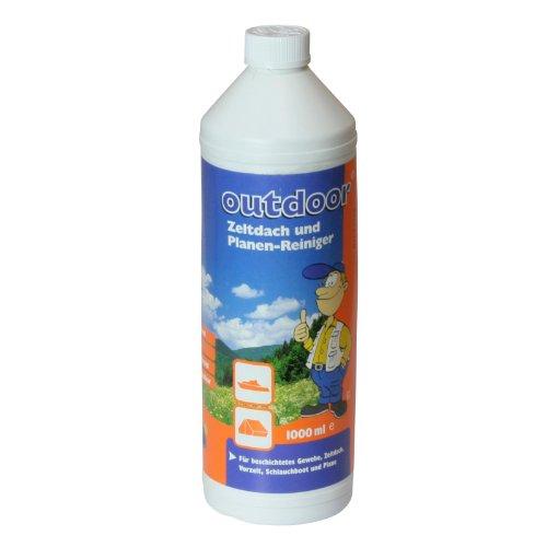 10T Clean It 1000ml Zelt Reiniger, Planenreiniger Reinigungsmittel für Planen Folien Material aus PVC oder Polyester