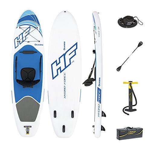 Bestway HYDRO-FORCE iSUP Oceana  305x84x12 cm, aufblasbares Stand Up Paddle Allround-Board