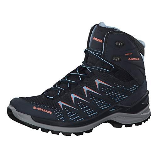 Lowa Innox Pro GTX Mid Ws Damenschuhe Wanderschuh Blau, Schuhgröße:EUR 41.5 | UK 7.5