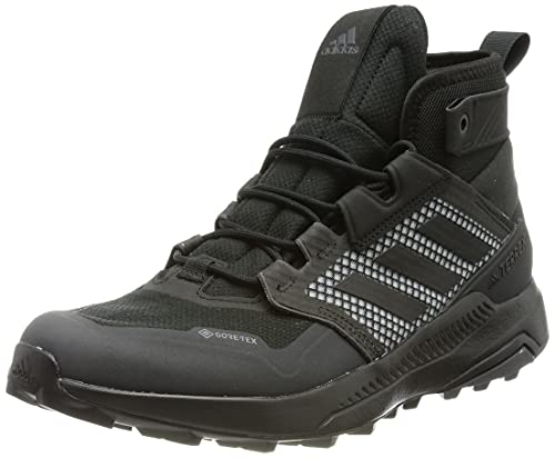 adidas Herren Terrex Trailmaker Mid GTX Walking Shoe, Core Black/Core Black/Solid Grey, 43 1/3 EU