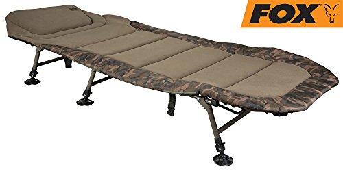 Fox R3 Camo Bedchair XL 223x101 cm