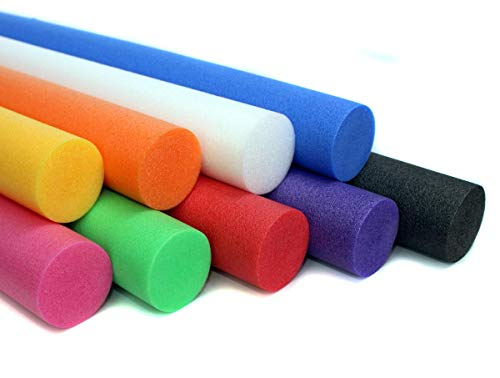 Artikel-Fuchs Schwimmnudel Poolnudel 2er Set 160 cm NMC Comfy® Noodle | Farbkombination - grün/blau