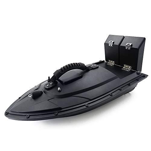 Hanbaili Fischfinder Langlebig Futterboot Angeln with 400m Schwarz Angeln Meer