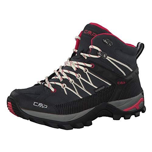 CMP Damen Rigel Mid Wmn Shoe Wp Trekking-& Wanderstiefel, Grau (Antracite-Off White 76uc), 42 EU
