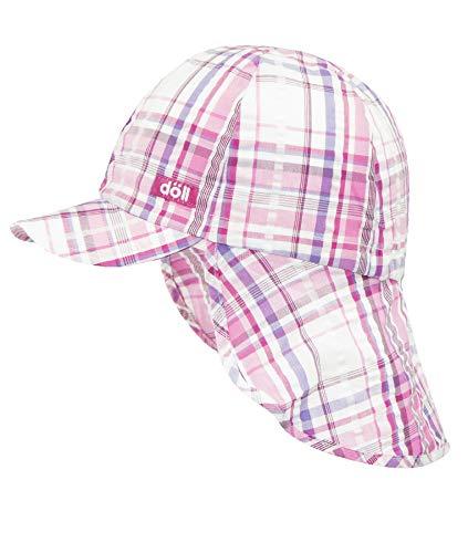 Döll Baby-Mädchen Baseballmütze mit Nackenschutz Kappe, Rosa (Beetroot Purple Pink 2420), 49