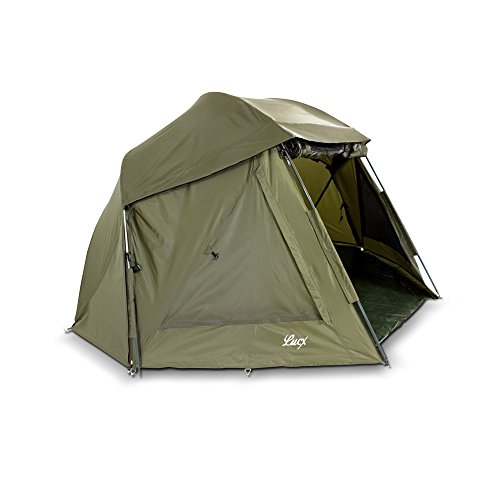 Lucx Wolf Schirmzelt Brolly Shelter Angelzelt Karpfenzelt Zelt Bivvy Campingzelt  10.000mm Wassersäule