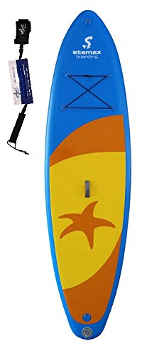 Stemax Allround 10'0 Beach SUP 2018 Standup Paddel Board aufblasbar inkl. SUPwave Coil-Leash, Stand up Paddle inflatable