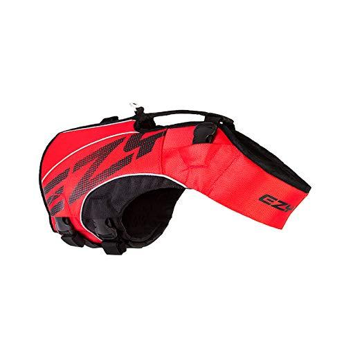 EzyDog X2 Boost Hundeschwimmweste, Größe M, Rot