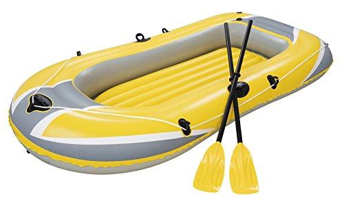 Bestway Schlauchboot Boot 228x121cm Hydro Force Raft Set Naviga mit Blasebalg und 2 Paddeln, 61083