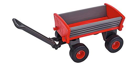 BIG Spielwarenfabrik 800056602 - BIG Peppy Handwagen, Bollerwagen, ab 3 Jahren, Transportwagen, große Ladefläche