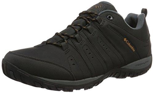 Columbia Herren Woodburn Li' Scarpe da Nordic Walking, Schwarz Karamell Black Caramel, 43 EU