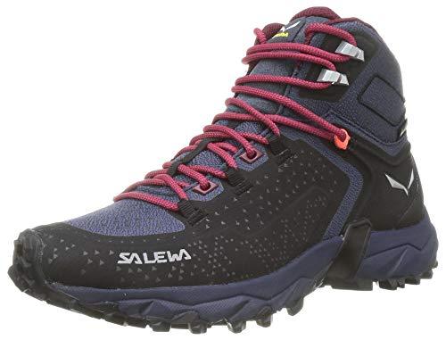 Salewa Damen WS Alpenrose 2 Mid Gore-TEX Trekking-& Wanderstiefel, Asphalt/Tawny Port, 40 EU