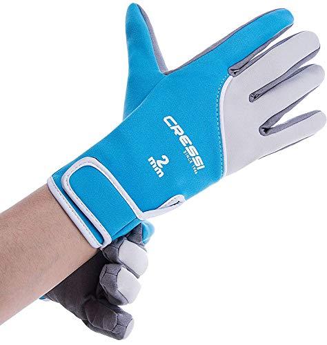 Cressi UnisexErwachsene Tropical Gloves Handschuhe für Wassersport in Amara und Neopren 2 mm