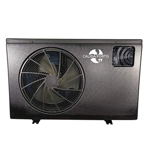 well2wellness Full-Inverter Wärmepumpe Calida.Fortis 17 bis 16,80 kW inklusive WiFi-Adapter + Abdeckplane