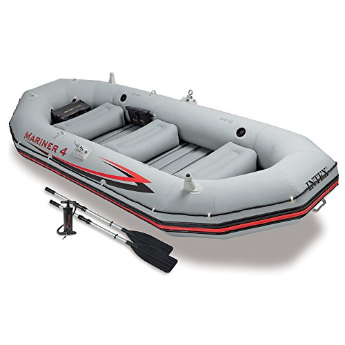 Intex 68376 - Schlauchboot-Set 'Mariner 4' 328 x 145 x 48 cm